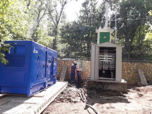 Две ДГУ по 200 кВт в детский лагерь в Чеченской республике