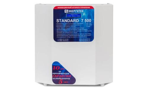 Стабилизатор Энерготех STANDART 7500 от ЭлекТрейд